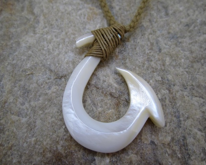 Grade B Hawaiian bone necklace